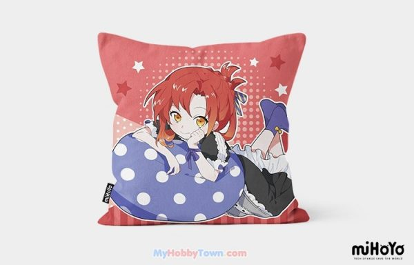 [PO] Honkai Impact 3rd - Chara Cushion Tea Party Pillow (45x45 cm) - Kiana Kaslana - Raiden Mei - Bronya Zaychik - Himeko Murata - Rita Rossweisse - Kallen Kaslana - Fu Hua - Theresa Apocalypse - Yae Sakura preorder di myhobbytown
